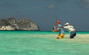 Flyfishing in Los Roques