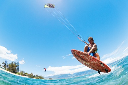 Kite Surfing in Los Rooques