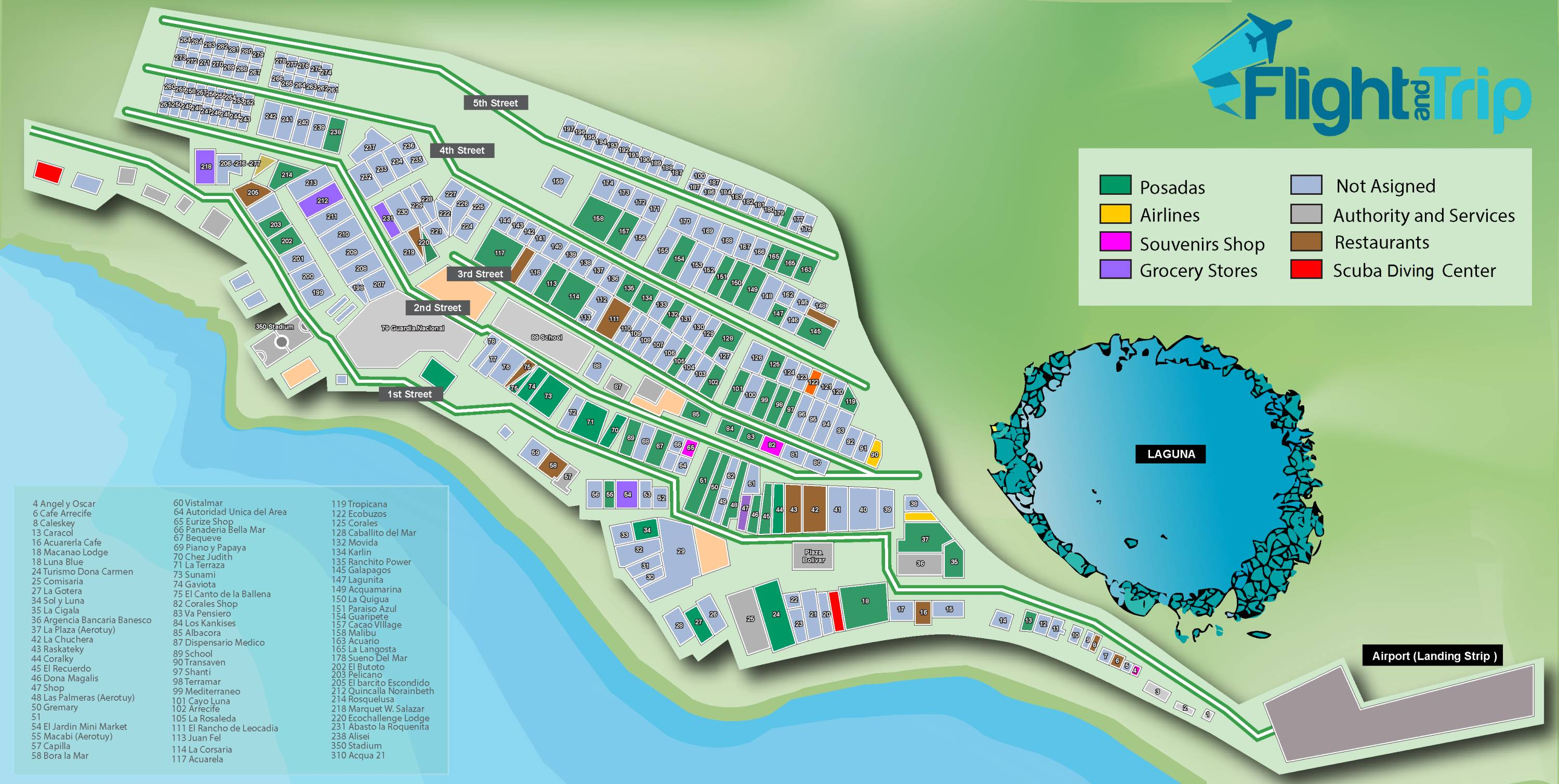 Los-Roques-Map