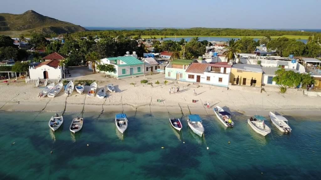 Caribbean island Los Roques