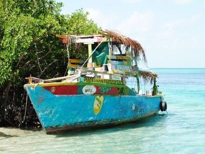 Fishing Boat in Belize